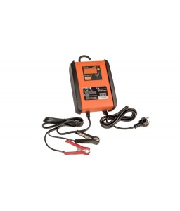 BBCE12-15S 15 Amp πλήρως αυτόματος φορτιστής / συντηρητής για 12V μπαταρίες με λειτουργία τροφοδοσία ρεύματος BAHCO
