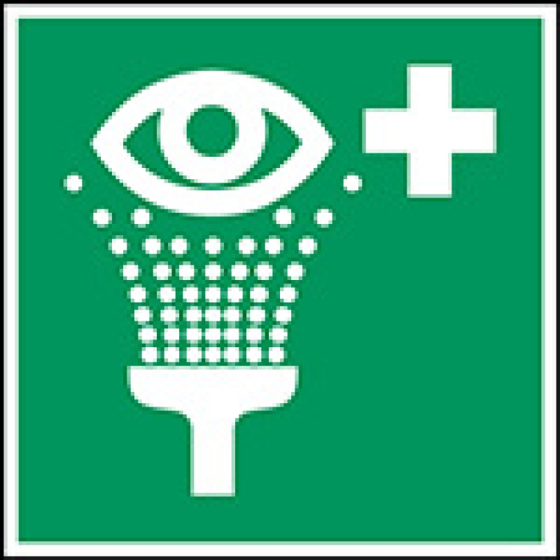 E011 - Σταθμός πλύσης ματιών