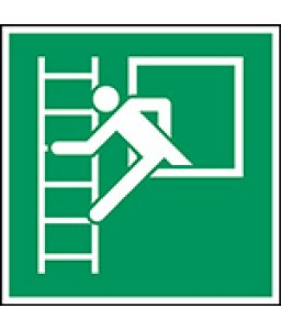 E016 - Παράθυρο έκτακτης ανάγκης με σκάλα διαφυγής (αριστερά)