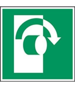 E019 - Περιστρέψτε δεξιόστροφα για να ανοίξετε