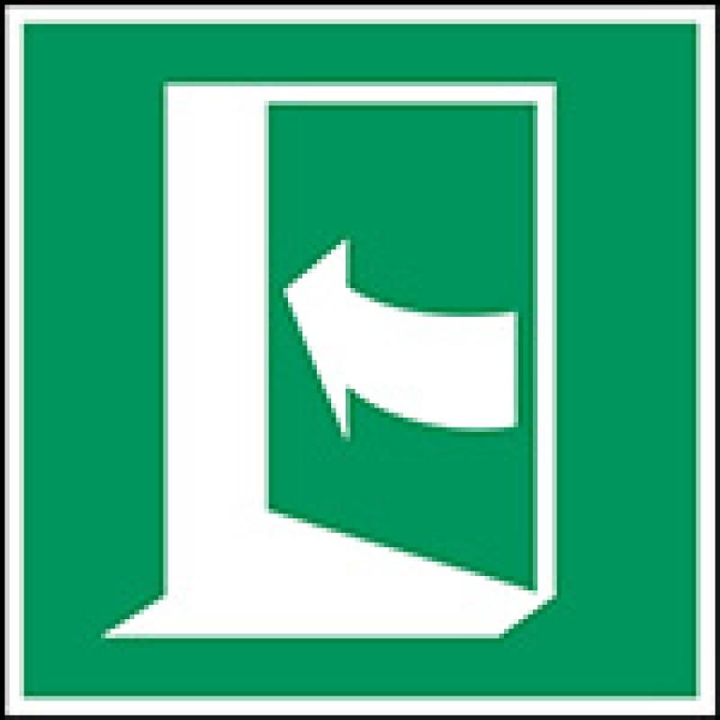 E022 - Η πόρτα ανοίγει πιέζοντας την αριστερή πλευρά