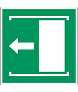 E034 - Οι διαφάνειες των θυρών αριστερά για άνοιγμα