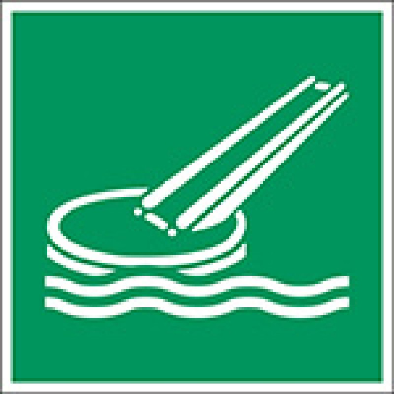 E054 – Τσουλήθρα θαλάσσιας εκκένωσης