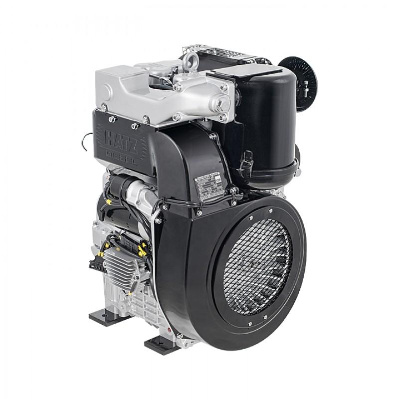 P12000 Ηλεκτρο - Γεννήτρια Πετρελαίου 3-Φασική 12,0 kVA Ηλεκτρική εκκίνηση και χειροκίνητο πίνακα ελέγχου CONN ( δυνατότητα σύνδεσης με AMF) + transp. Kit Hatz 2G40 PRAMAC