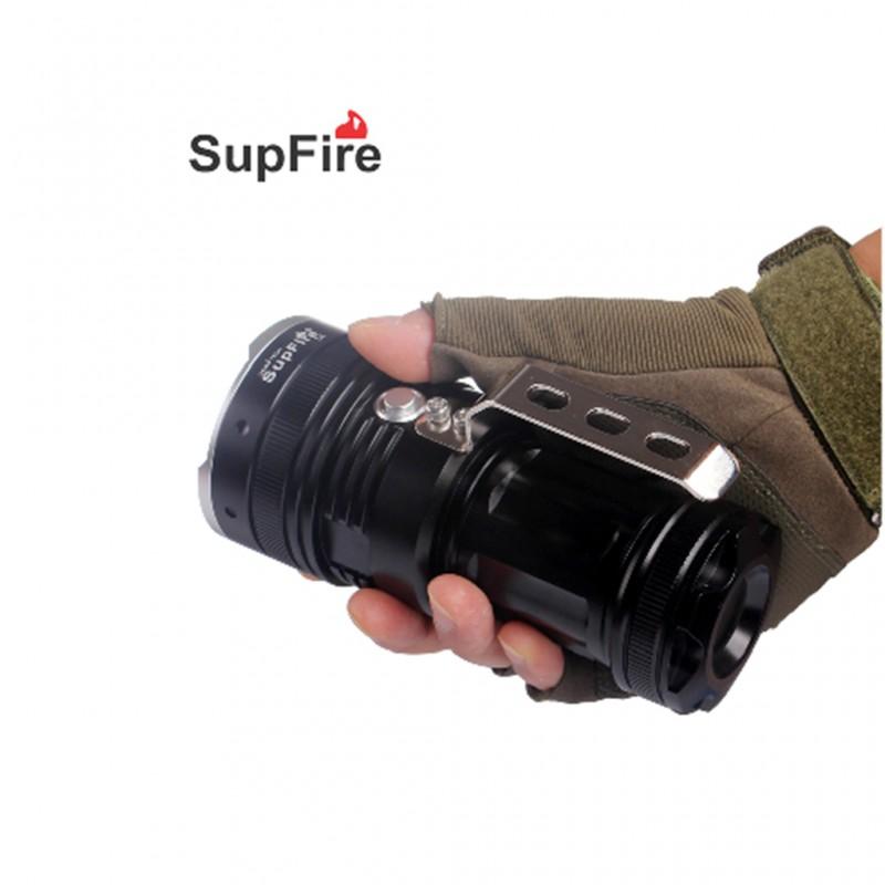L1 Φακός Χειρός Επαναφορτιζόμενος SUPFIRE