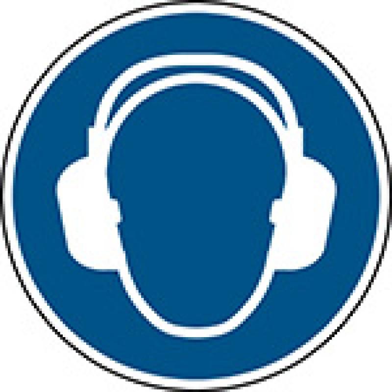 M003 - Να φοράτε προστασία αυτιών