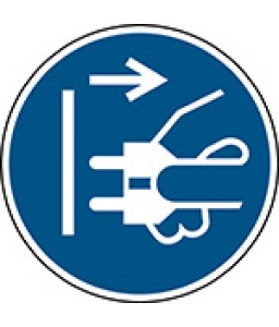M006 - Αποσυνδέστε το φις από την πρίζα