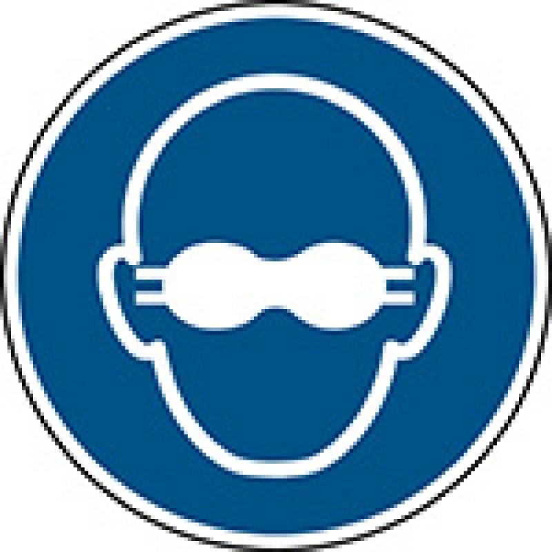M007 - Πρέπει να φοράτε αδιαφανή προστασία των ματιών