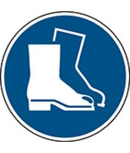 M008 - Να φοράτε υποδήματα ασφαλείας