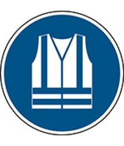 M015 - Να φοράτε ρούχα υψηλής ορατότητας