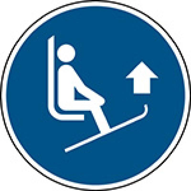 M036 - Σηκώστε τις μύτες από τα πέδιλα σκι