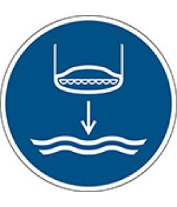 M039 - Κατέβαστε σωσίβια λέμβο στο νερό κατά τη σειρά εκτόξευσης