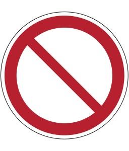 P001 - Γενικό σημείο απαγόρευσης