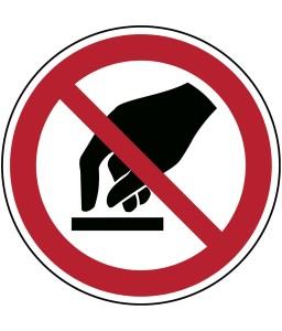 P010 - Μην αγγίζετε