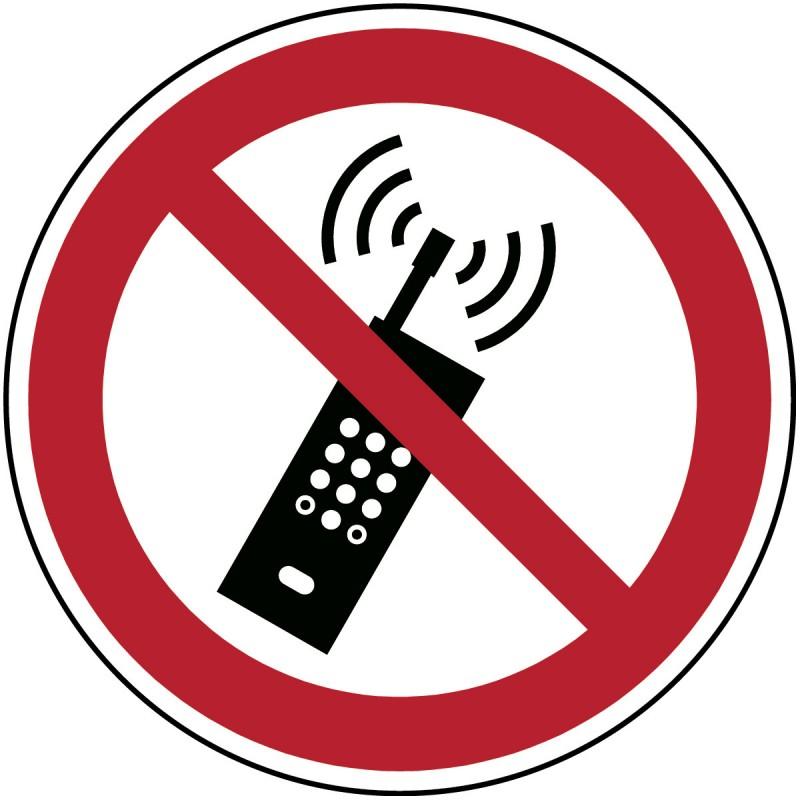 P013 - Απαγορεύονται τα ενεργοποιημένα κινητά τηλέφωνα
