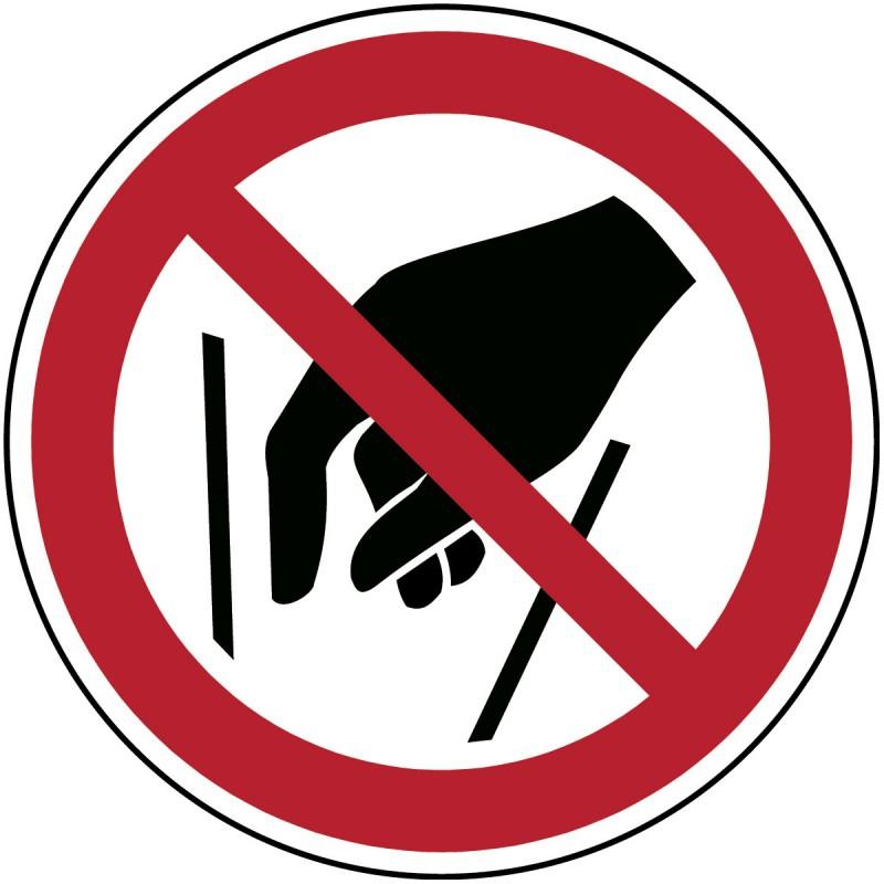 P015 - Μην βάλετε τα χέρια σας μέσα