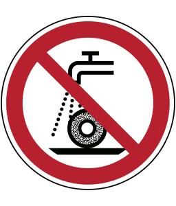 P033 - Μη χρησιμοποιείτε για υγρή λείανση