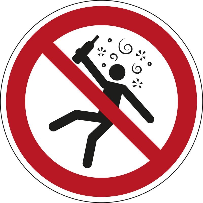 P043 - Απαγορεύονται τα άτομα με κατάσταση μέθης