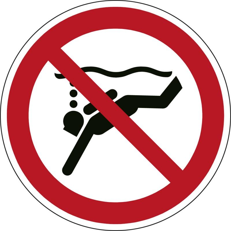 P051 - Απαγορεύεται η υποθαλάσσια κατάδυση