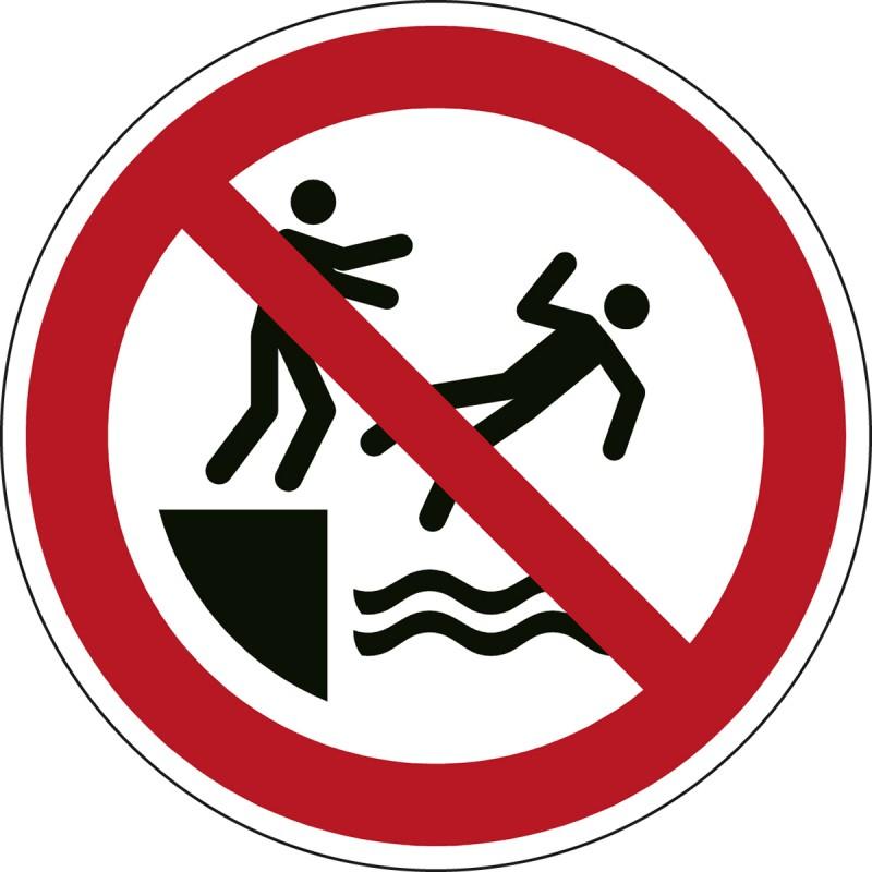 P062 - Απαγορεύεται το σπρώξιμο στο νερό