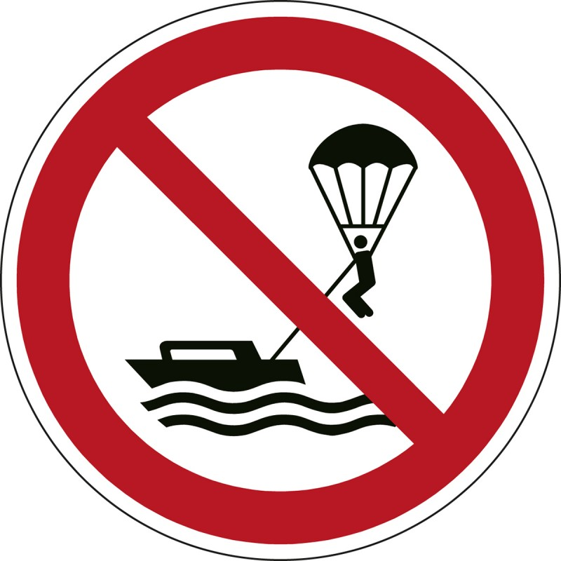 P066 - Απαγορεύεται το θαλάσσιο αλεξίπτωτο