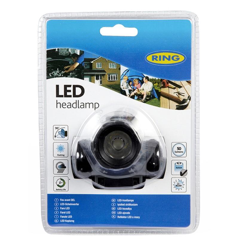 RT5174 Φακός κεφαλής LED RING