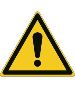 W001 - Γενικό προειδοποιητικό σήμα