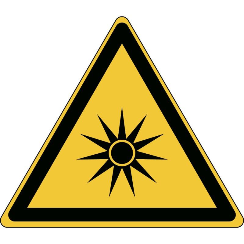 W027 - Προσοχή Οπτική ακτινοβολία