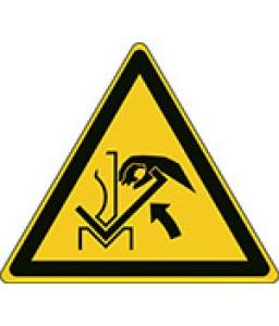 W031 - Προσοχή Η σύνθλιψη του χεριού στην πρέσα