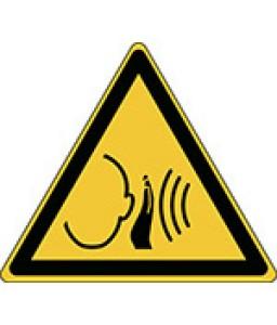 W038 - Προσοχή Ξαφνικός δυνατός θόρυβος