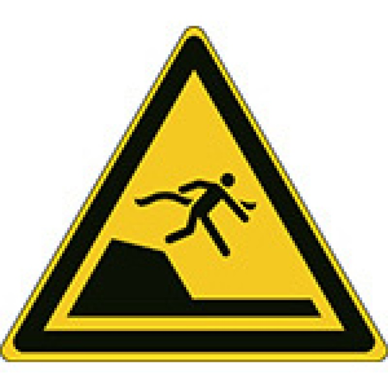 W050 - Προσοχή ξαφνική πτώση πυθμένα σε πισίνες κολύμβησης