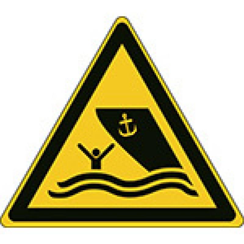 W058 - Προσοχή περιοχή σκαφών