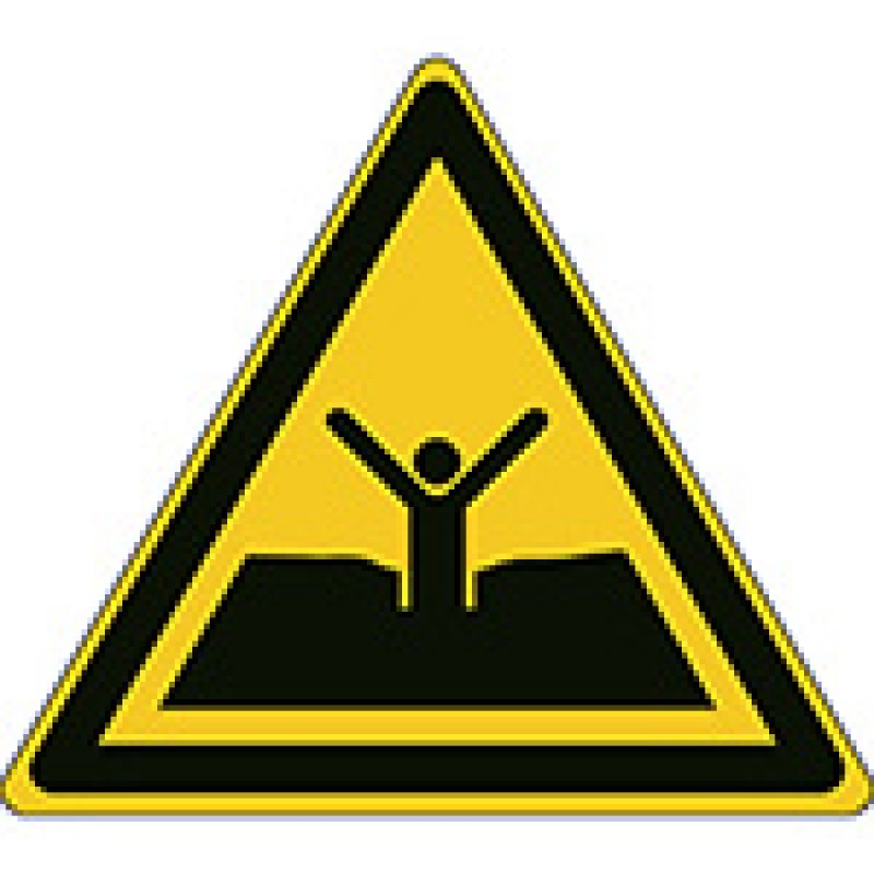 W061 - Προσοχή κινούμενη άμμος ή λάσπη / βαθιά λάσπη