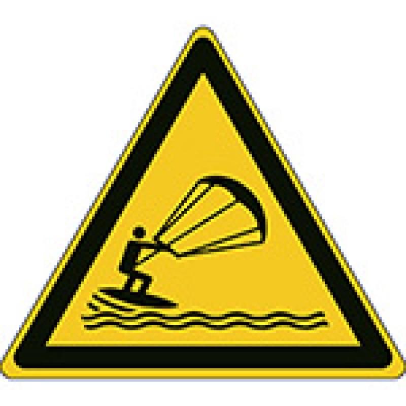 W062 - Προσοχή Kite surfing