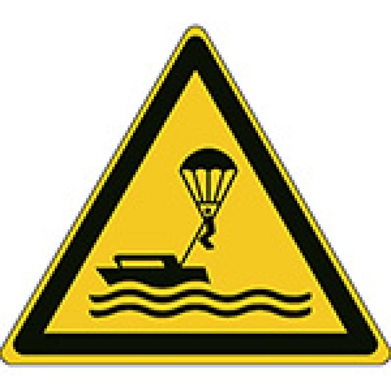 W063 - Προσοχή Αλεξίπτωτο θαλάσσης