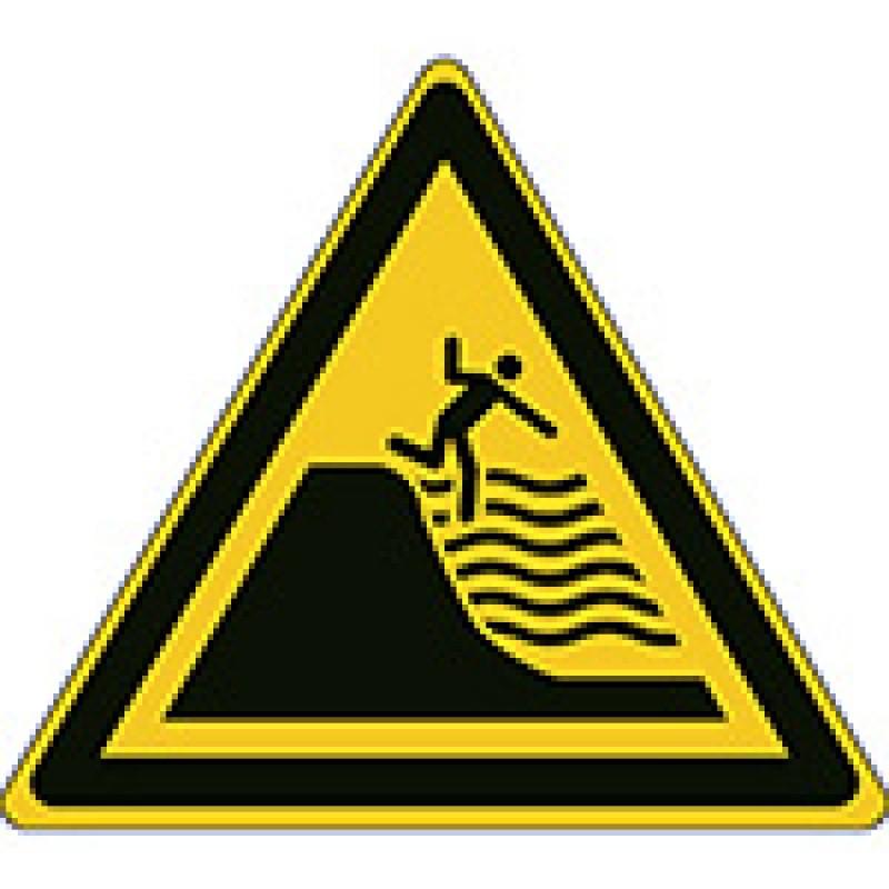 W066 - Προσοχή Βαθιά παραλία ραφιών