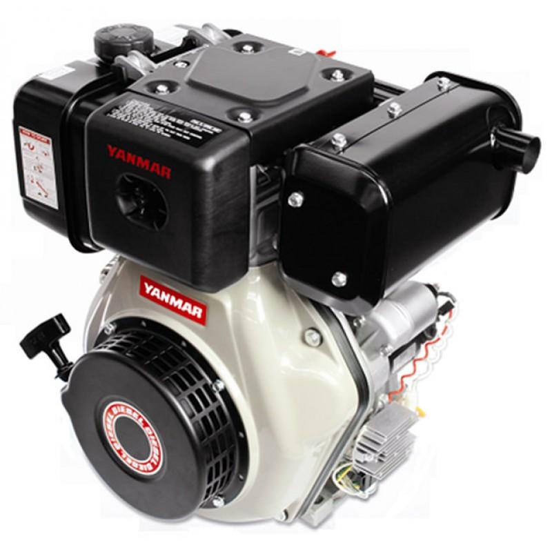 P6000s Ηλεκτρο - Γεννήτρια Πετρελαίου 3-Φασική 5,6 kVA Ηλεκτρική εκκίνηση και χειροκίνητο πίνακα ελέγχου CONN ( δυνατότητα σύνδεσης με AMF) + DPP Yanmar L100 PRAMAC