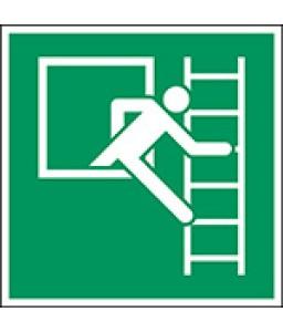 E016B - Παράθυρο έκτακτης ανάγκης με σκάλα διαφυγής (δεξιά)
