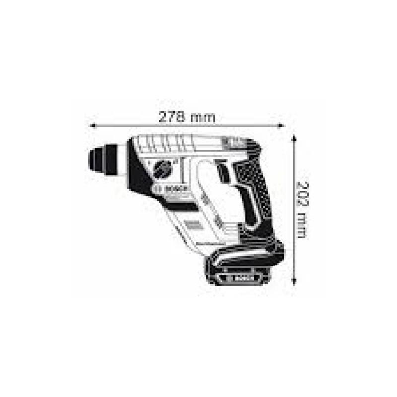 GBH 14,4 V-LI Compact solo (χωρίς μπαταρίες και φορτιστή) ΠΙΣΤΟΛΕΤΟ Μπαταρίας BOSCH