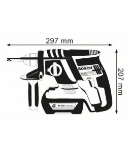 GBH 36 V-LI Compact (SOLO) ΠΙΣΤΟΛΕΤΟ Μπαταρίας BOSCH