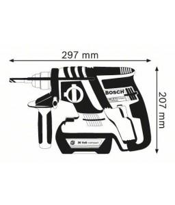 GBH 36 V-EC Compact (2x2,0Ah) L-Boxx ΠΙΣΤΟΛΕΤΟ Μπαταρίας + Εξαρτήματα BOSCH