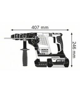 GBH 36 VF-LI Plus (2x4,0Ah) L-Boxx ΠΙΣΤΟΛΕΤΟ Μπαταρίας με ταχυτσόκ BOSCH