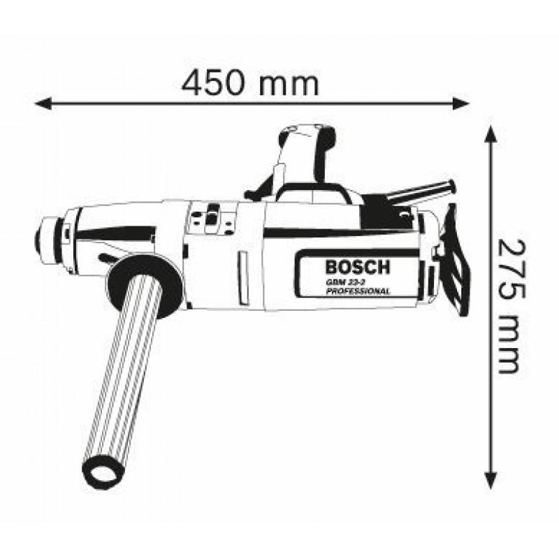 GBM 23-2 E Δράπανο Ηλεκτρονικό BOSCH