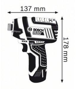 GDR 10,8 V-LI (2x2,0Ah) L-boxx ΠΑΛΜΙΚΟ ΚΑΤΣΑΒΙΔΙ Μπαταρίας BOSCH