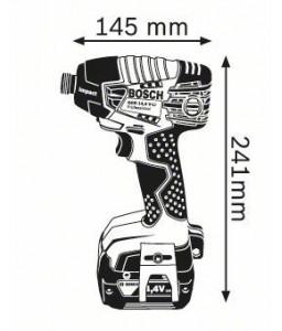 GDR 14,4 V-LI solo (χωρίς μπαταρίες και φορτιστή) ΠΑΛΜΙΚΟ ΚΑΤΣΑΒΙΔΙ Μπαταρίας BOSCH