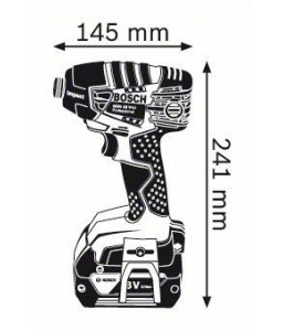 GDR 18 V-LI (2x4,0Ah) L-boxx ΠΑΛΜΙΚΟ ΚΑΤΣΑΒΙΔΙ Μπαταρίας BOSCH