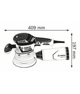 GEX 125 / 150 AVE L-Boxx Έκκεντρο Τριβείο + 50 ΧΑΡΤΙΑ (150 mm) BOSCH