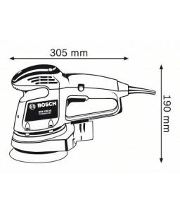 GEX 125 AC Έκκεντρο Τριβείο BOSCH