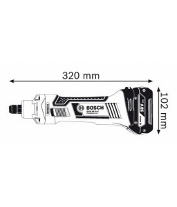 GGS 18 V-LI solo (χωρίς μπαταρίες και φορτιστή) Ευθύς Λειαντήρας BOSCH