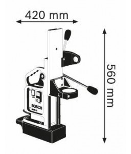GMB 32 Μαγνητική Βάση ΓΙΑ GBM 32-4 BOSCH